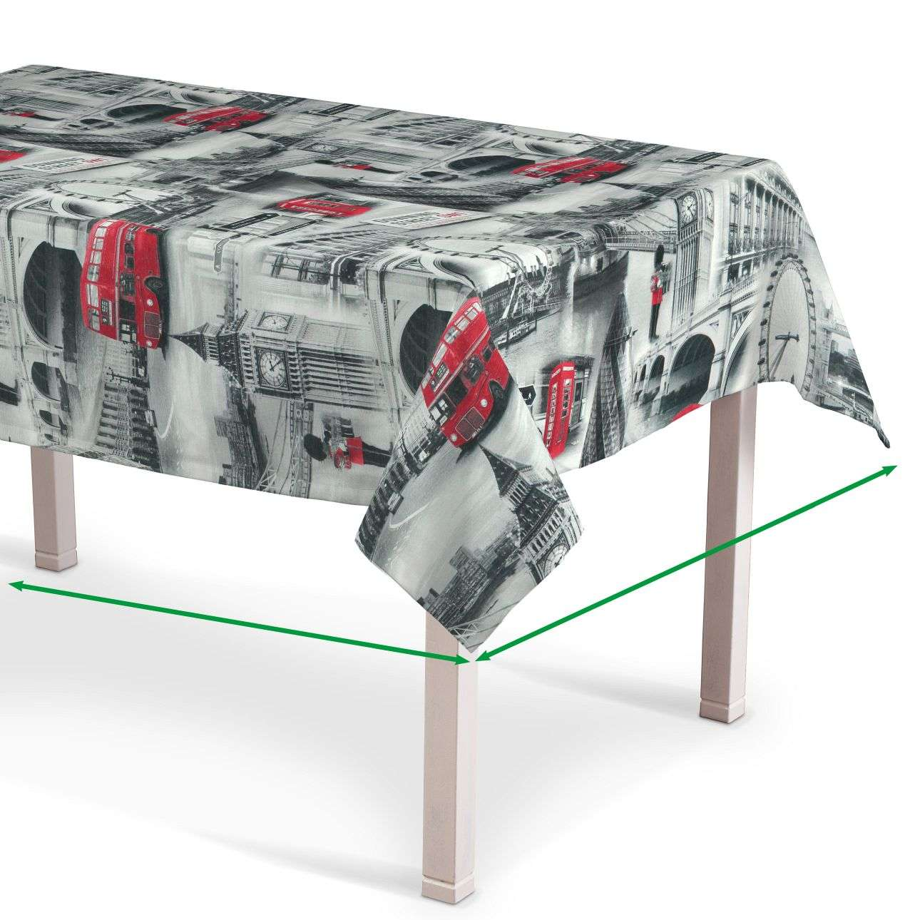 Rectangular tablecloth in collection Comic Book & Geo Prints, fabric: 111-04