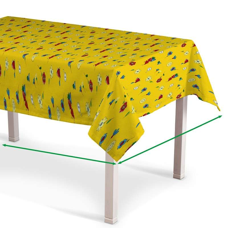 Rectangular tablecloth in collection SALE, fabric: 114-92
