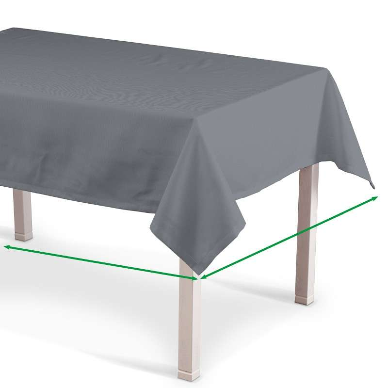 Rectangular tablecloth in collection Panama Cotton, fabric: 702-07