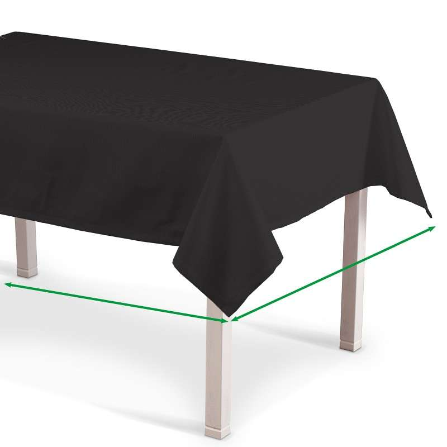 Rektangulære borddug fra kollektionen Cotton Panama, Stof: 702-08