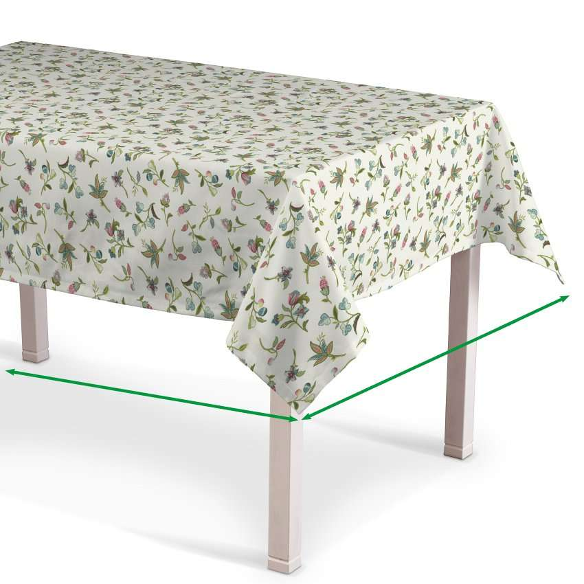 Rectangular tablecloth in collection Londres, fabric: 122-02