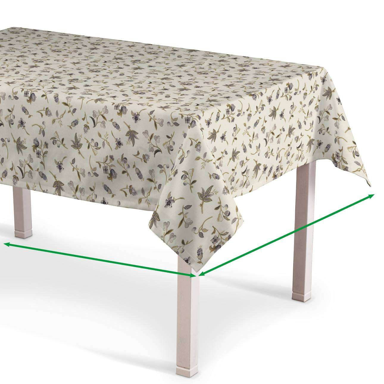 Rectangular tablecloth in collection Londres, fabric: 122-04