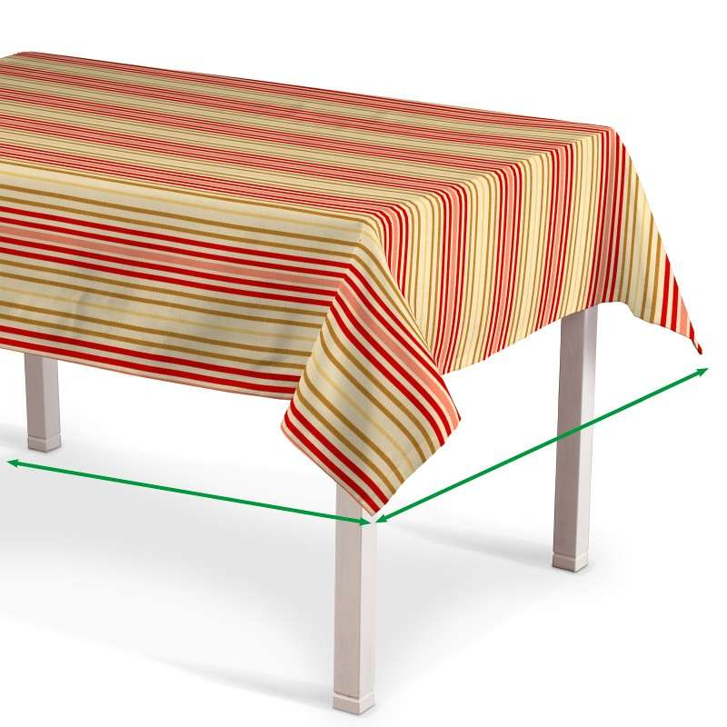 Rectangular tablecloth in collection Londres, fabric: 122-05