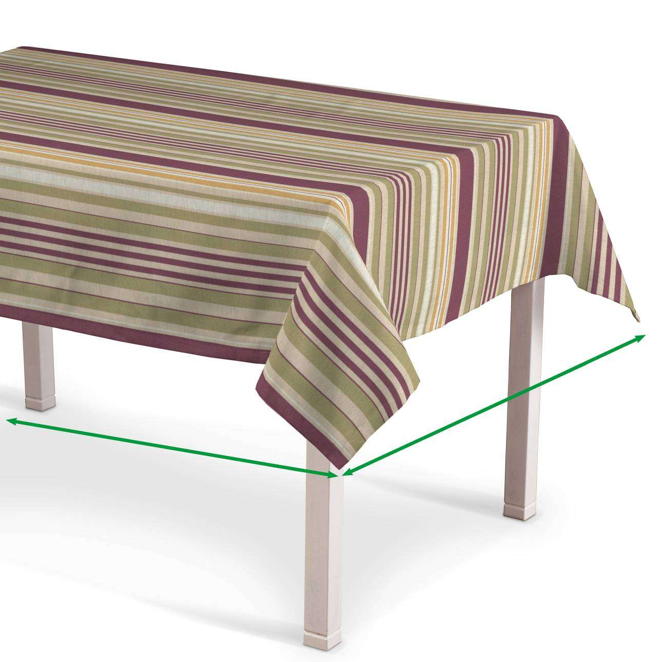 Rectangular tablecloth in collection Londres, fabric: 122-09