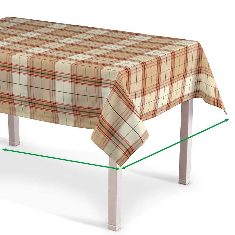 Rectangular tablecloth in collection Bristol, fabric: 125-09