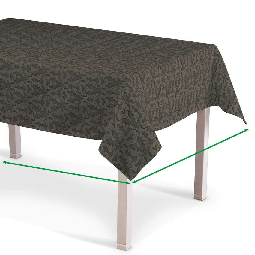 Rectangular tablecloth in collection Victoria, fabric: 130-09