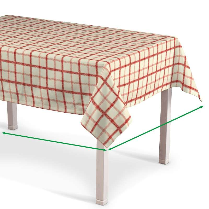 Rectangular tablecloth in collection Avinon, fabric: 131-15
