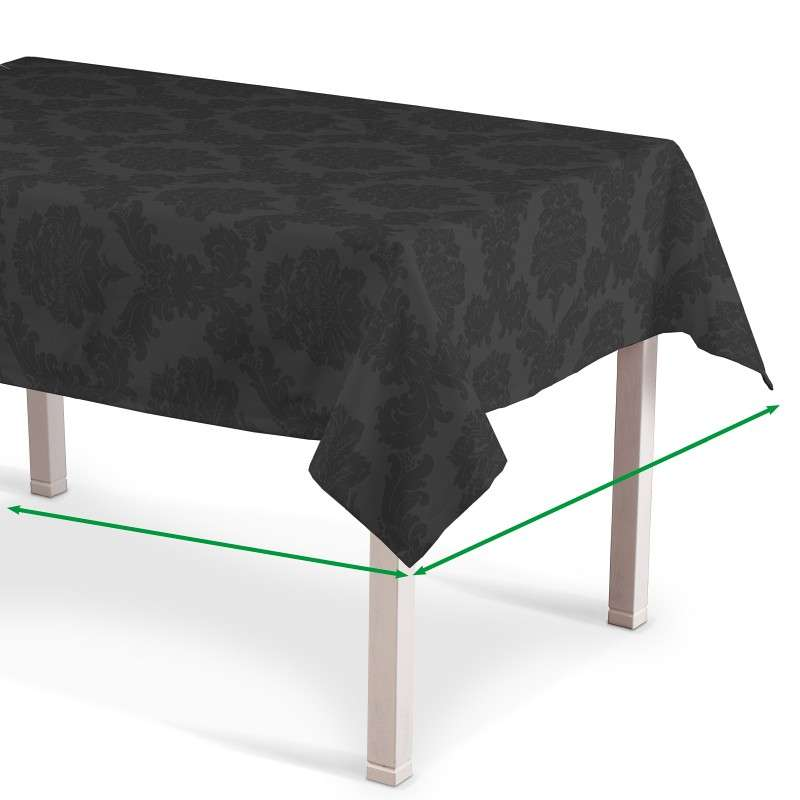 Rectangular tablecloth in collection Damasco, fabric: 613-32