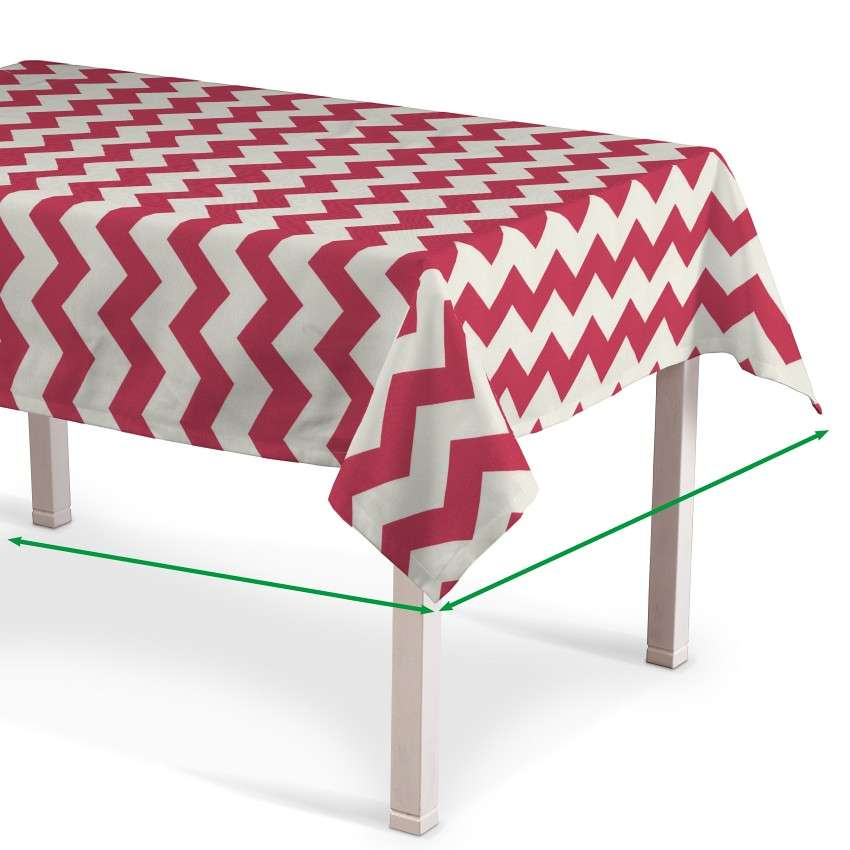 Rectangular tablecloth in collection Comic Book & Geo Prints, fabric: 135-00