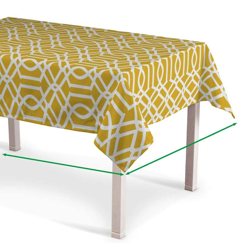 Rectangular tablecloth in collection Comic Book & Geo Prints, fabric: 135-09