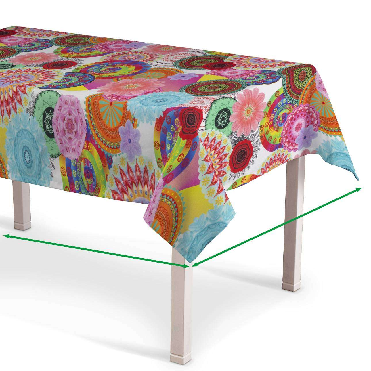 Rectangular tablecloth in collection Comic Book & Geo Prints, fabric: 135-22