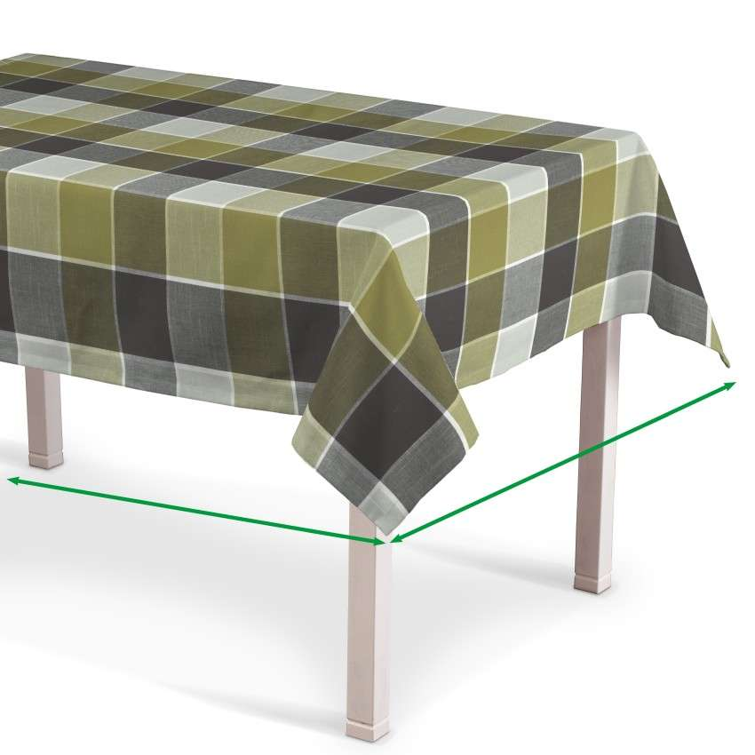 Rectangular tablecloth in collection Cardiff, fabric: 136-20