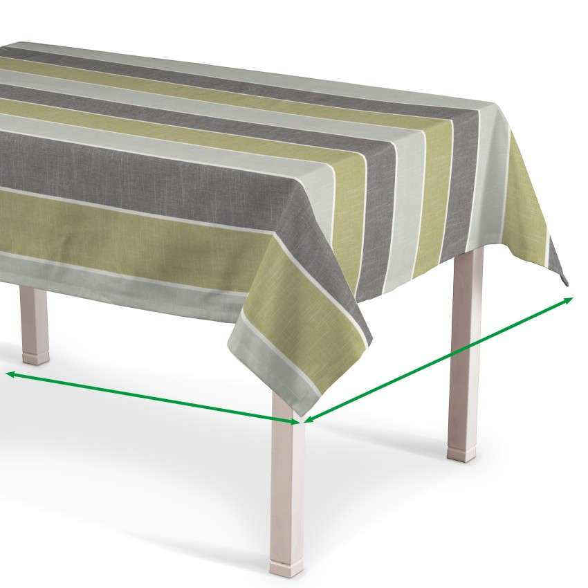 Rectangular tablecloth in collection Cardiff, fabric: 136-23