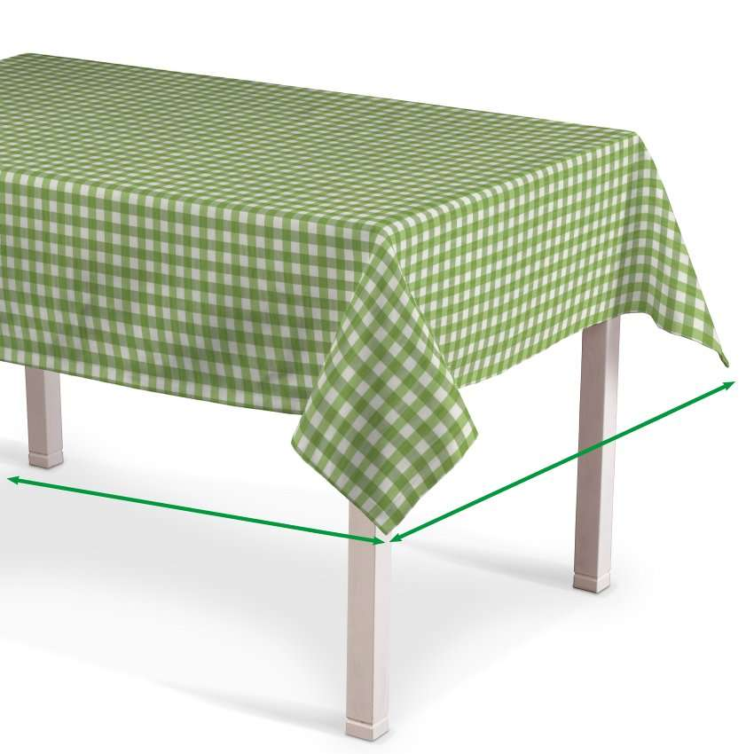 Rectangular tablecloth in collection Quadro, fabric: 136-34