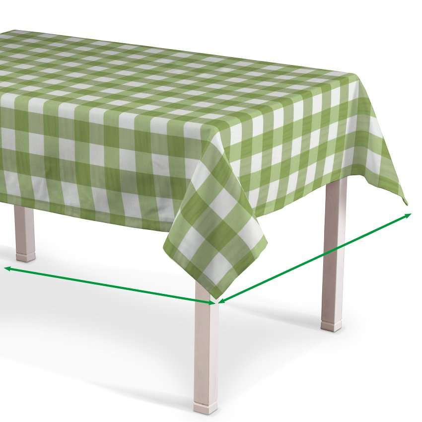 Rectangular tablecloth in collection Quadro, fabric: 136-36