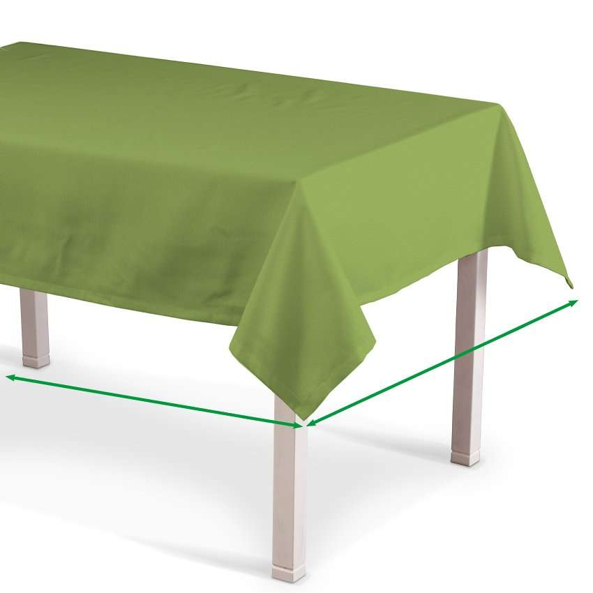 Rectangular tablecloth in collection Quadro, fabric: 136-37