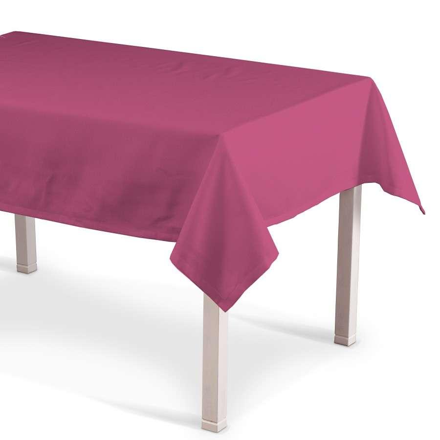 Rektangulær bordduk fra kolleksjonen Loneta, Stoffets bredde: 133-60