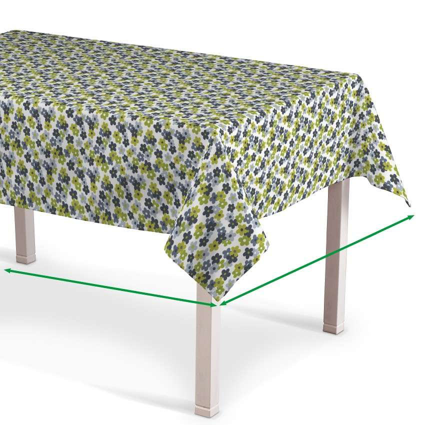 Rectangular tablecloth in collection SALE, fabric: 137-56