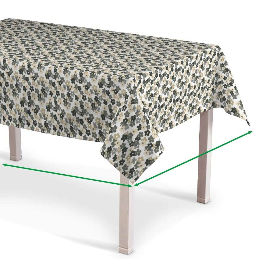 Rectangular tablecloth in collection SALE, fabric: 137-57