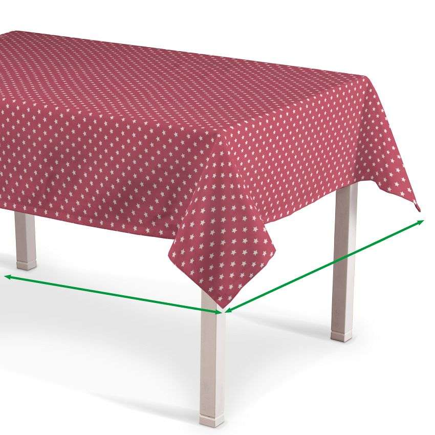 Rectangular tablecloth in collection Ashley, fabric: 137-69