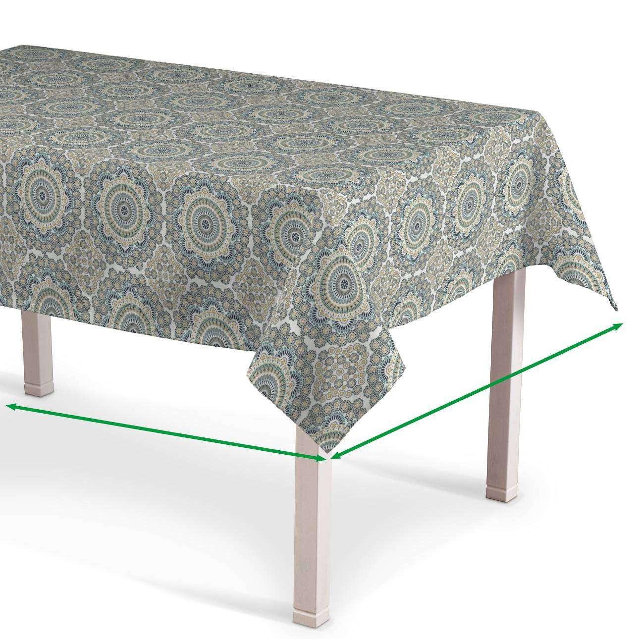Rectangular tablecloth in collection Comic Book & Geo Prints, fabric: 137-84