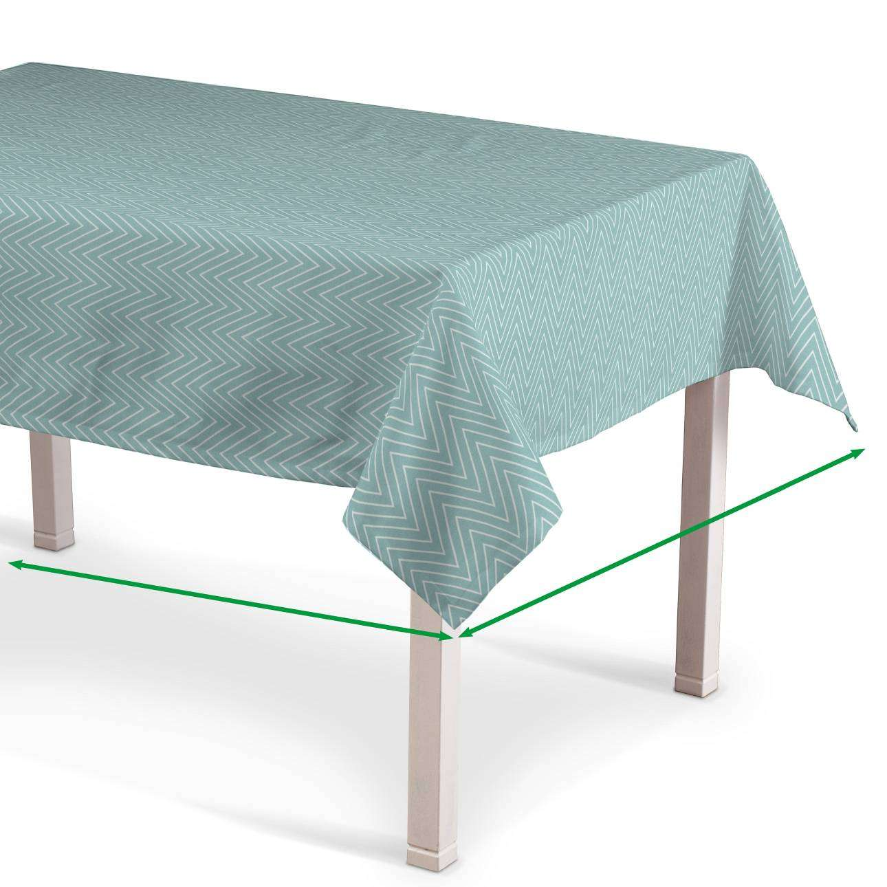Rectangular tablecloth in collection Brooklyn, fabric: 137-90