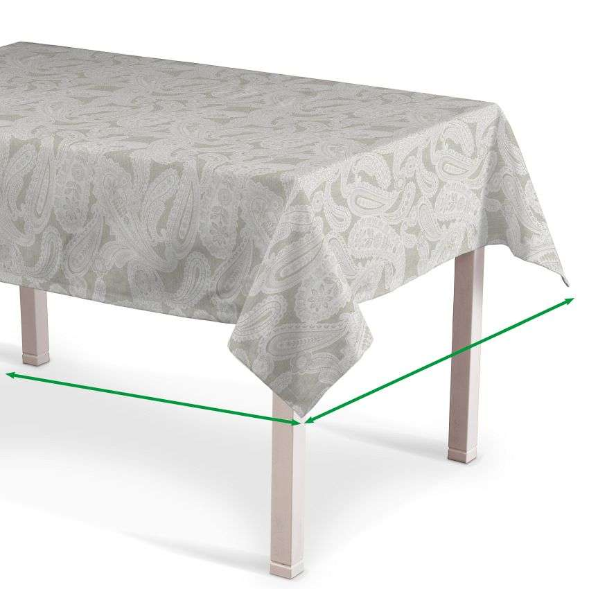 Rectangular tablecloth in collection Rustica, fabric: 138-10