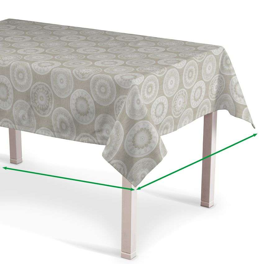 Rectangular tablecloth in collection Rustica, fabric: 138-11