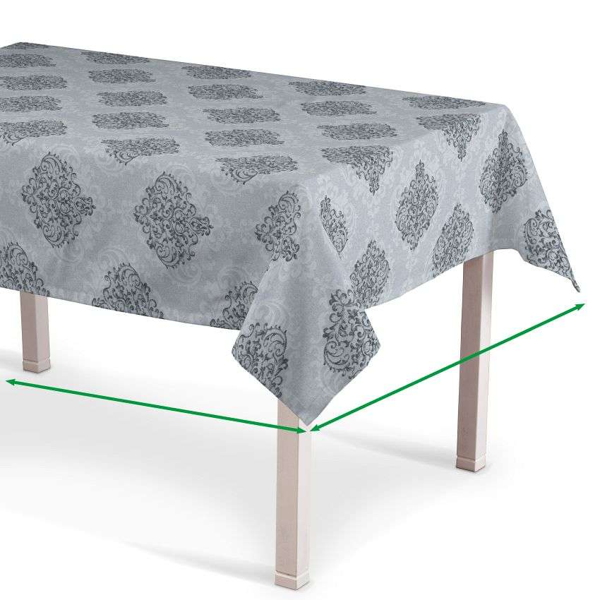 Rectangular tablecloth in collection Rustica, fabric: 138-16