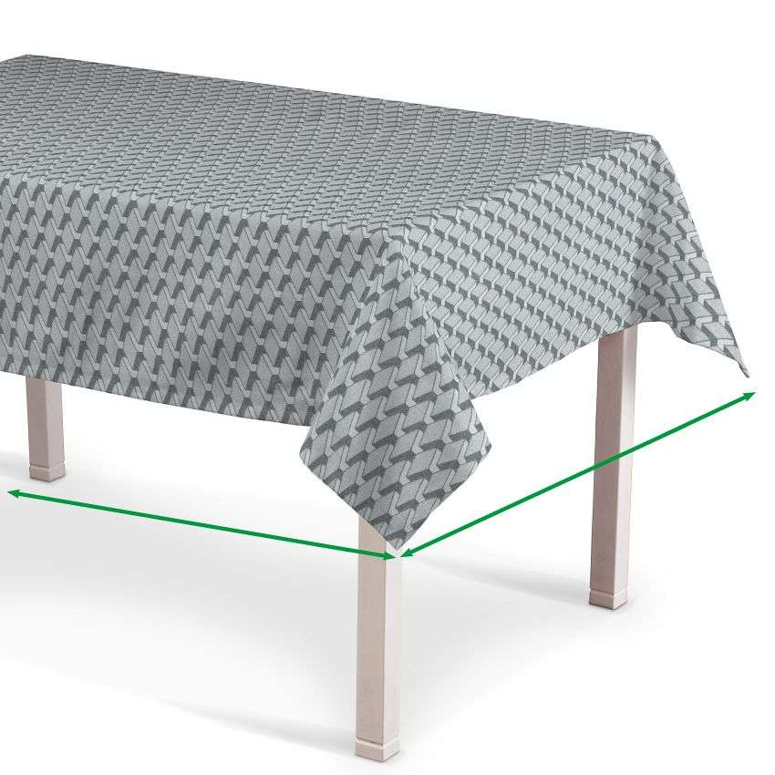 Rectangular tablecloth in collection Rustica, fabric: 138-18