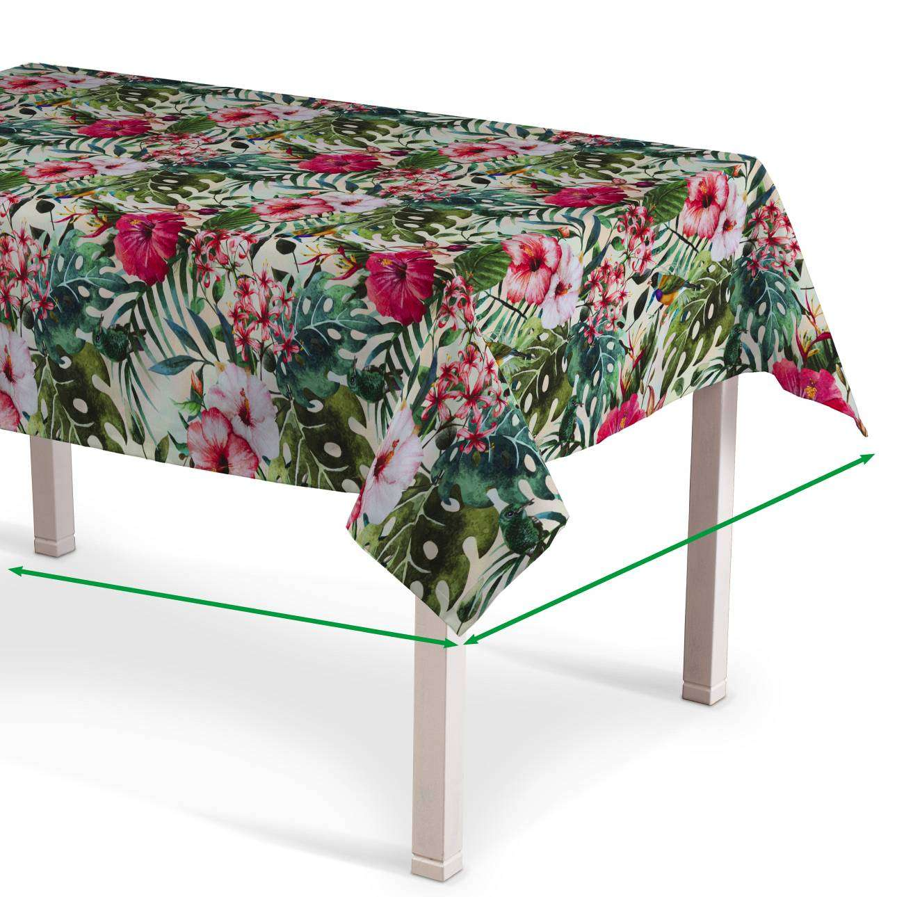 Rectangular tablecloth in collection New Art, fabric: 140-21