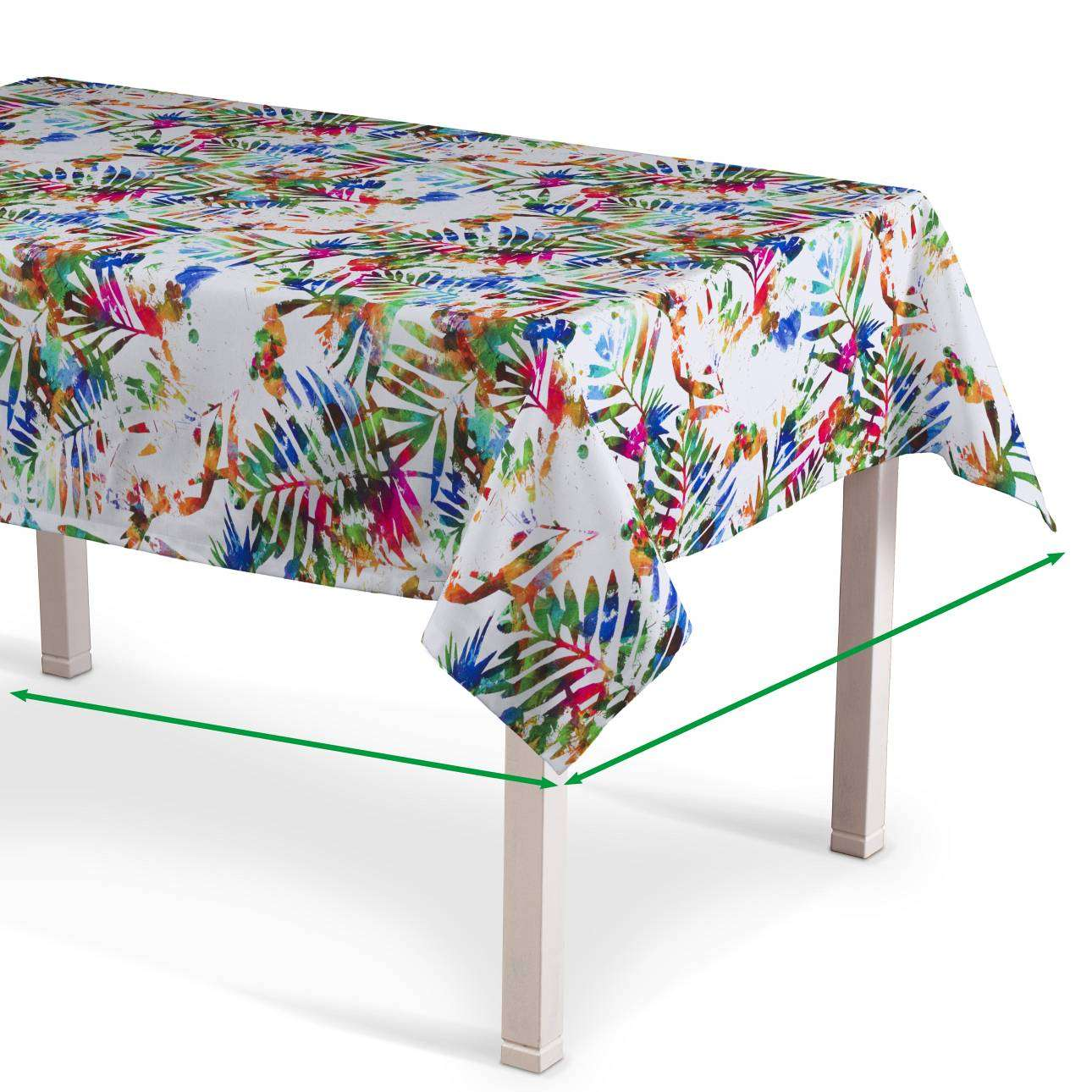 Rectangular tablecloth in collection New Art, fabric: 140-22