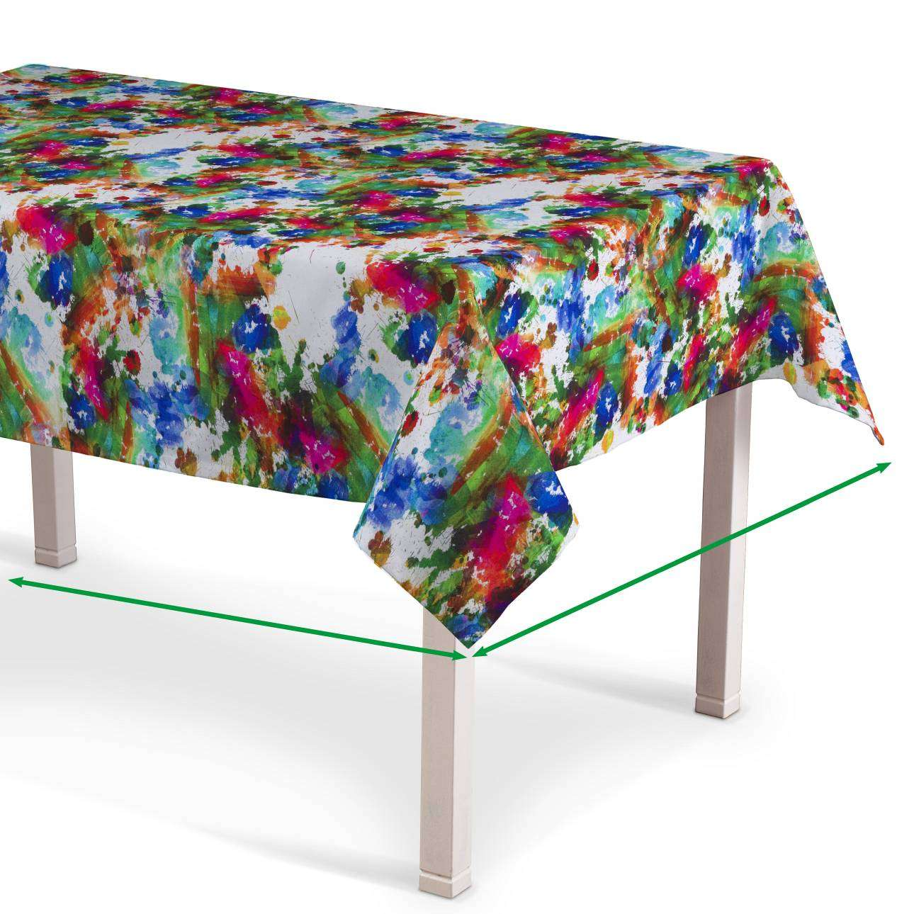 Rectangular tablecloth in collection New Art, fabric: 140-23