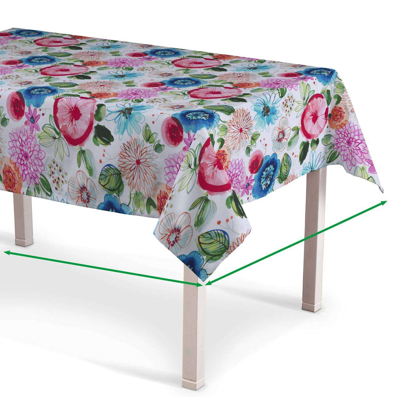 Rectangular tablecloth in collection New Art, fabric: 140-24
