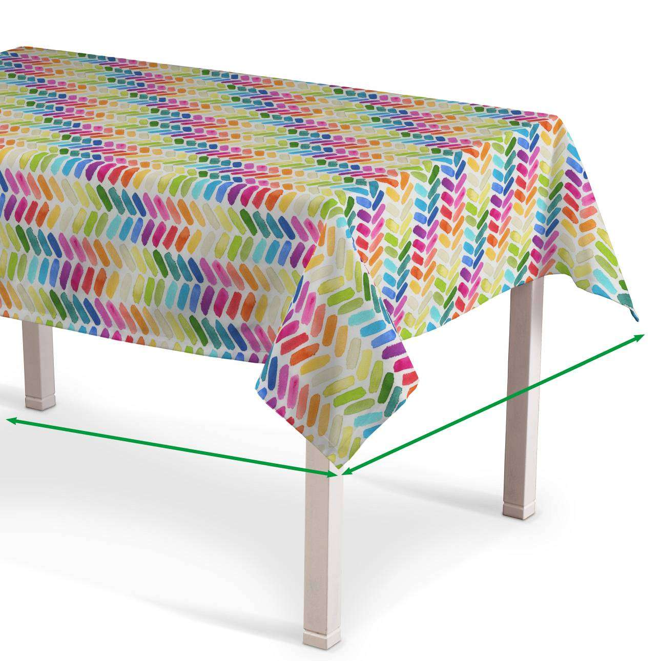 Rectangular tablecloth in collection New Art, fabric: 140-25