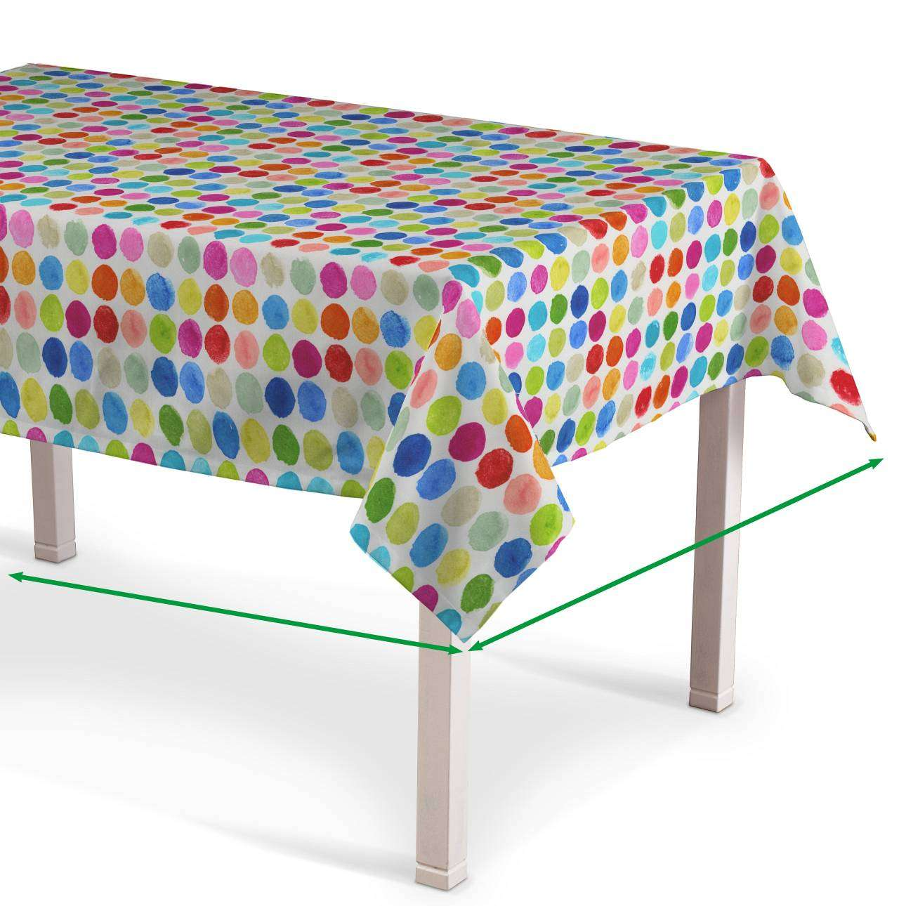 Rectangular tablecloth in collection New Art, fabric: 140-26