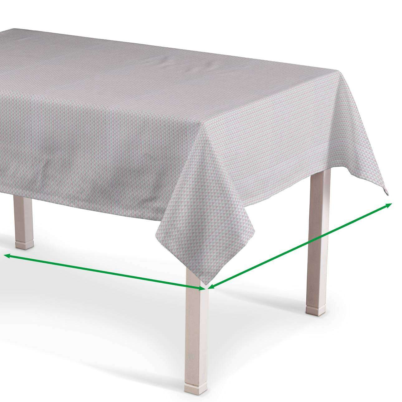 Rectangular tablecloth in collection Rustica, fabric: 140-28