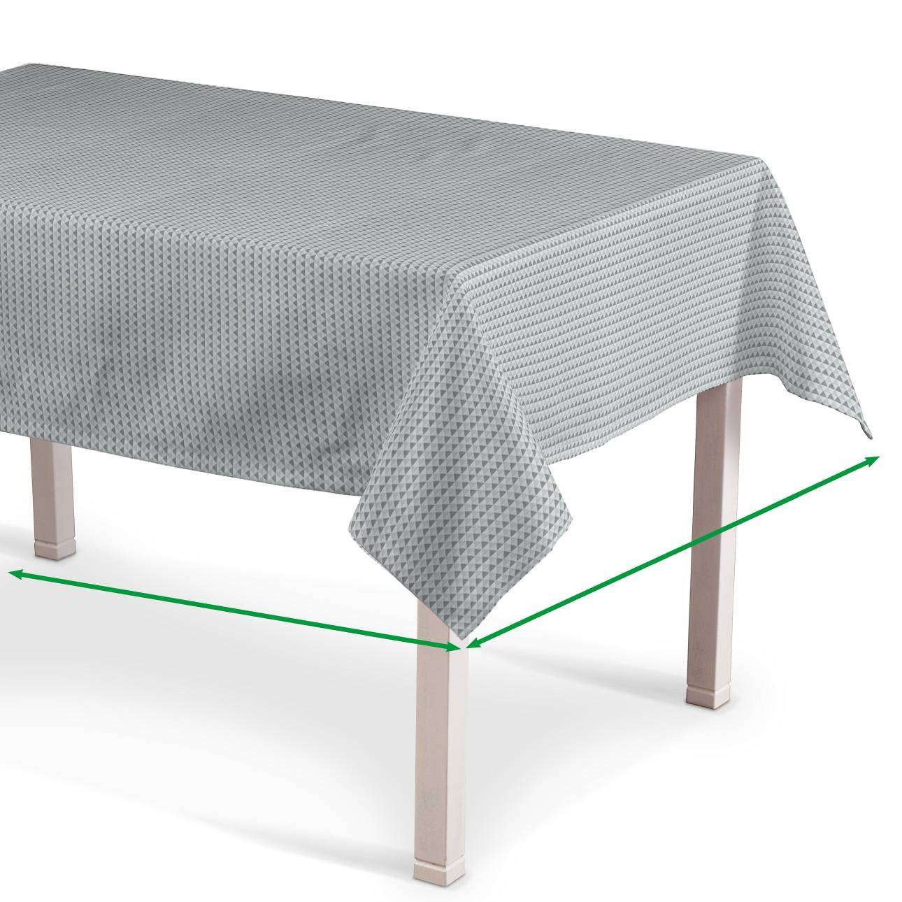 Rectangular tablecloth in collection Rustica, fabric: 140-31