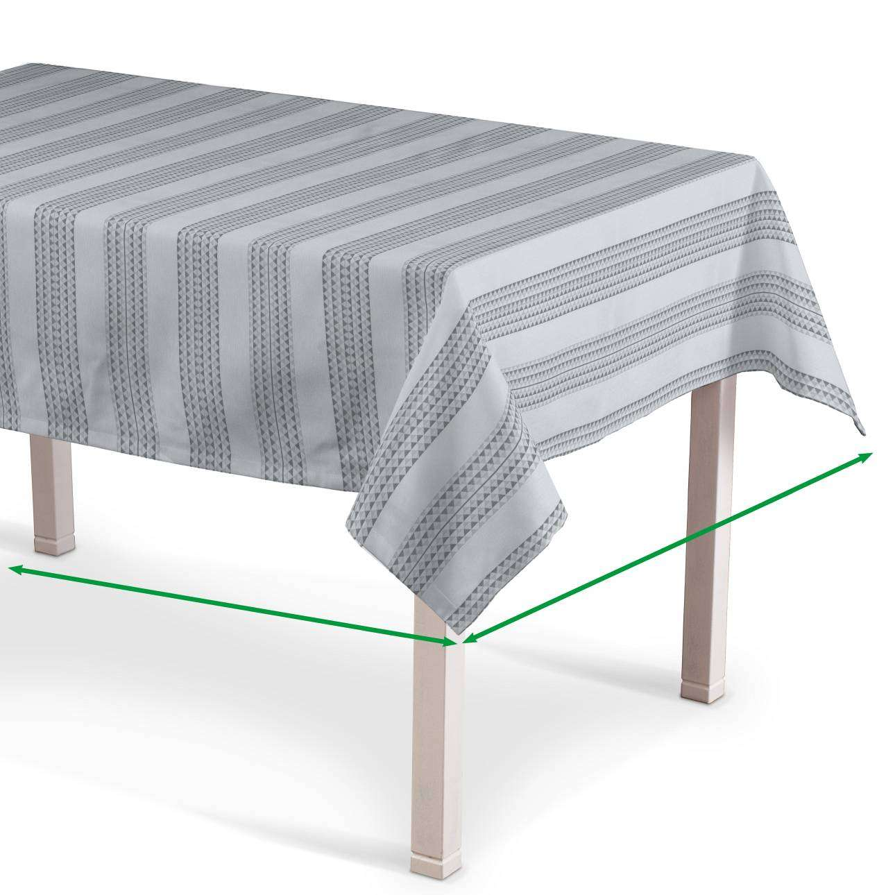 Rectangular tablecloth in collection Rustica, fabric: 140-32