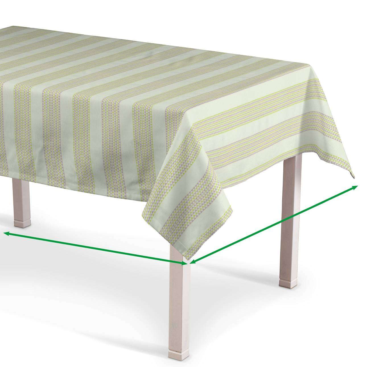 Rectangular tablecloth in collection Rustica, fabric: 140-35