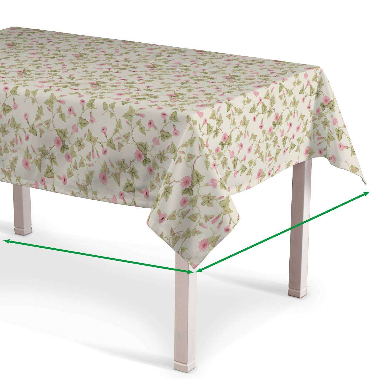 Rectangular tablecloth in collection Mirella, fabric: 140-41