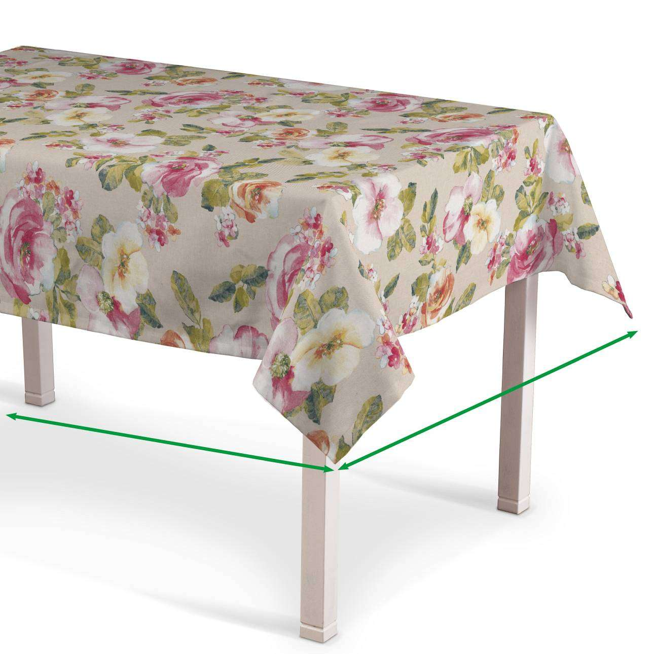 Rectangular tablecloth in collection Londres, fabric: 140-43