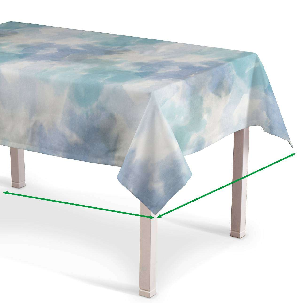 Rectangular tablecloth in collection Aquarelle, fabric: 140-67