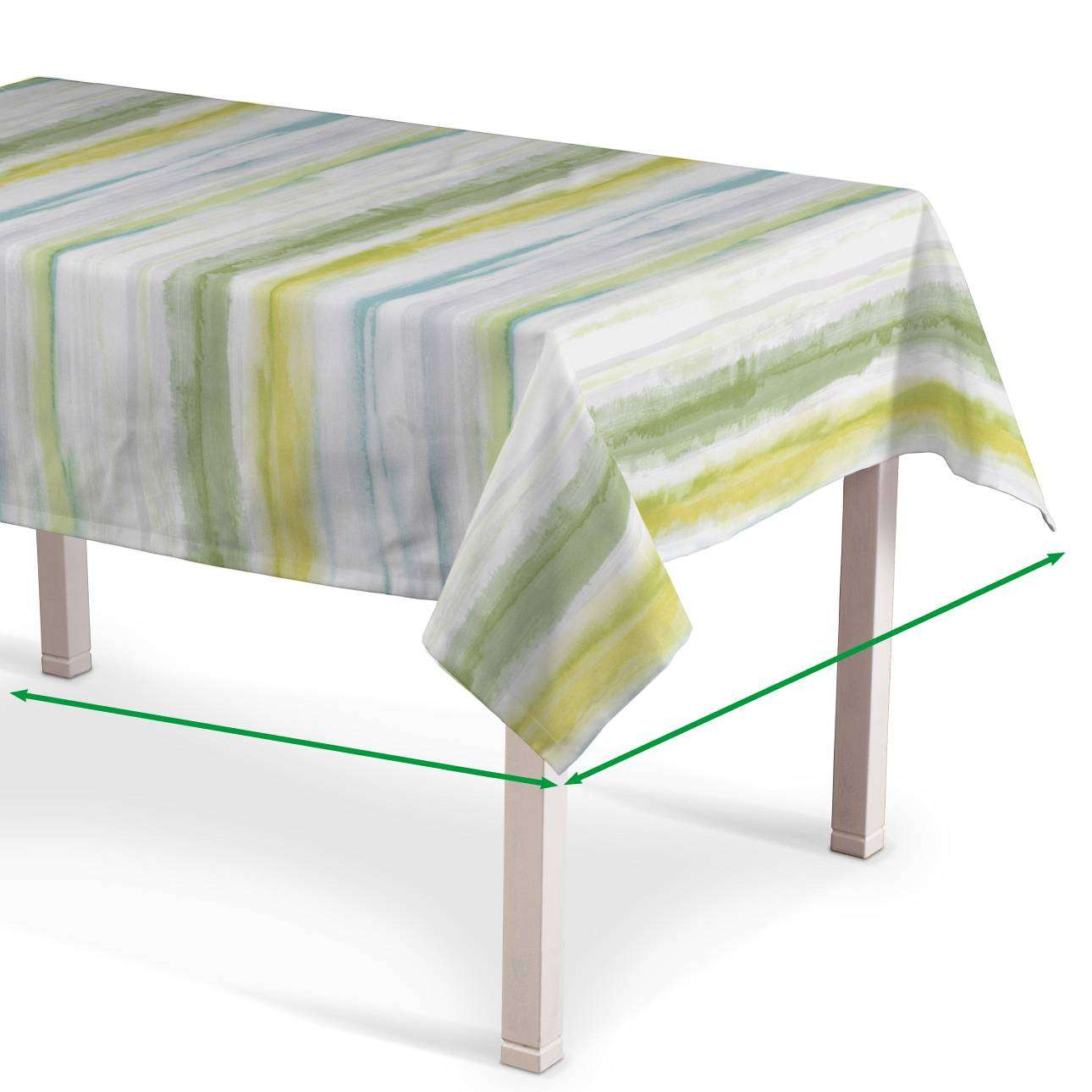 Rectangular tablecloth in collection Aquarelle, fabric: 140-68