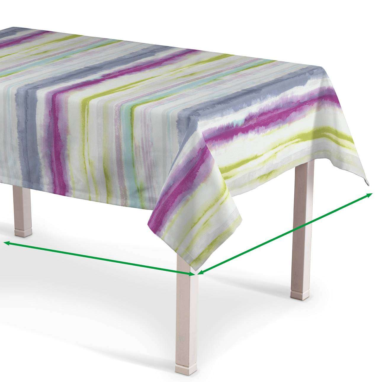 Rectangular tablecloth in collection Aquarelle, fabric: 140-69