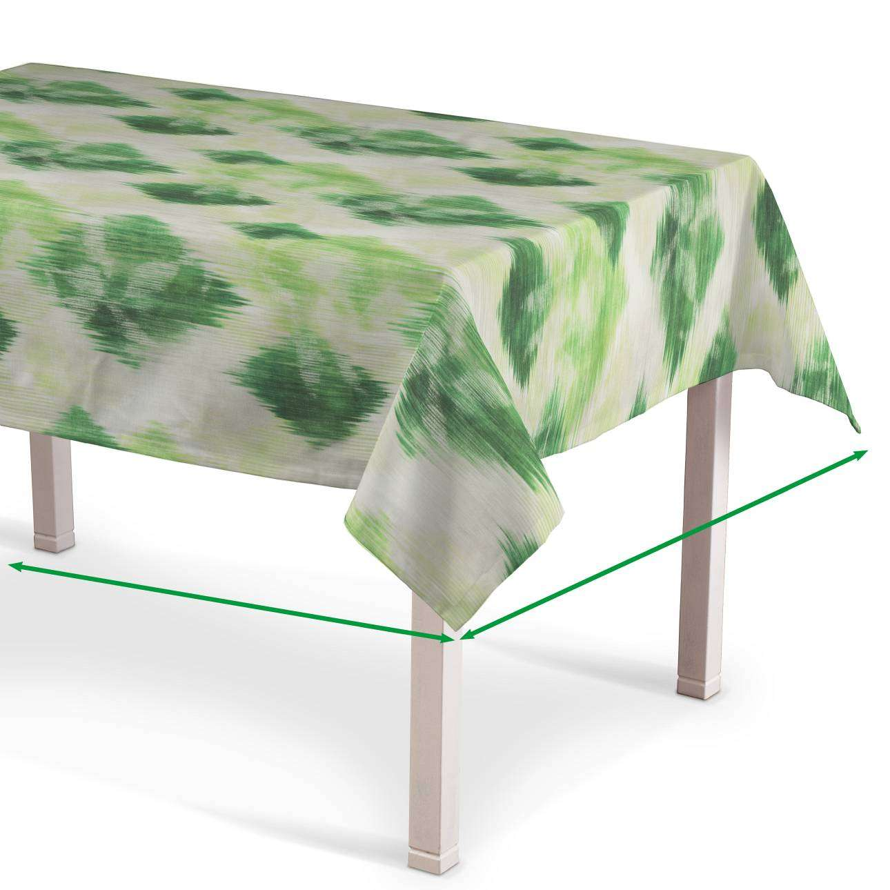 Rectangular tablecloth in collection Aquarelle, fabric: 140-70