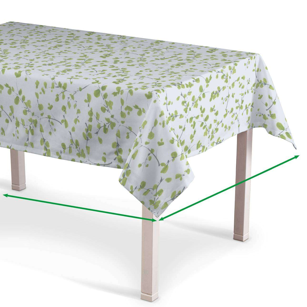 Rectangular tablecloth in collection Aquarelle, fabric: 140-76