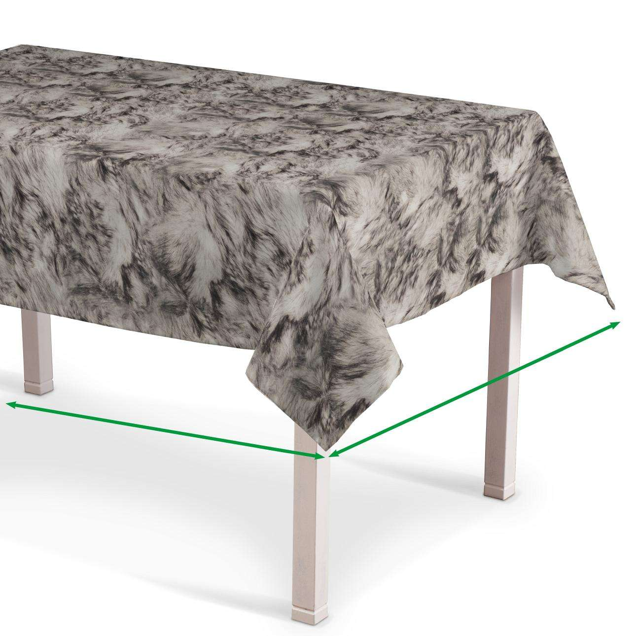 Rectangular tablecloth in collection Norge, fabric: 140-82
