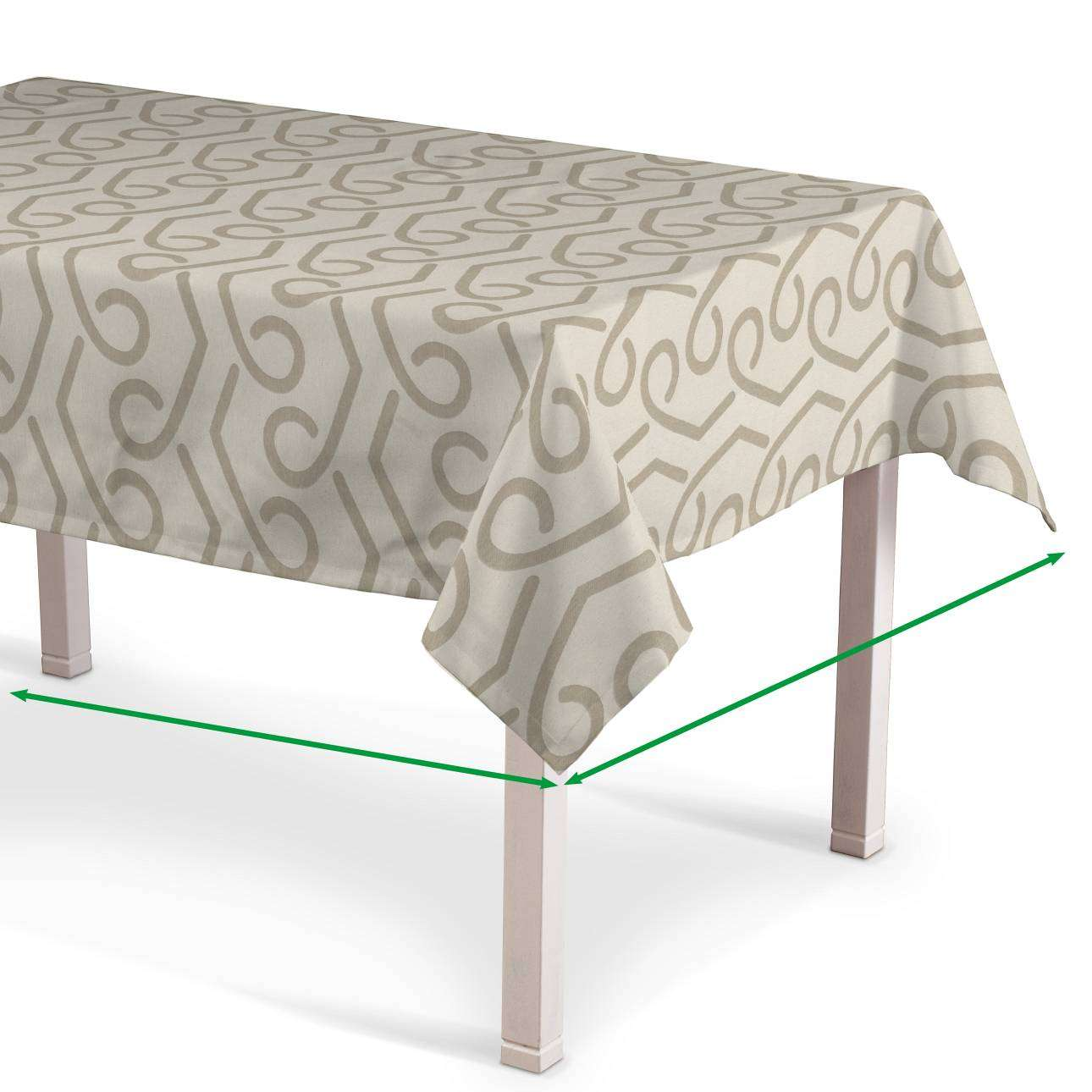Rectangular tablecloth in collection Rustica, fabric: 140-85