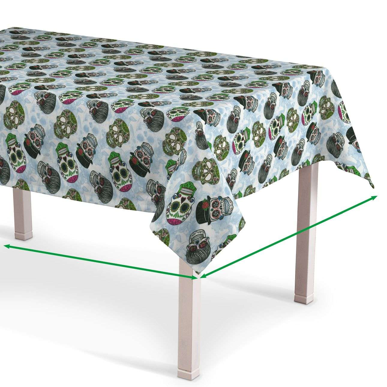 Rectangular tablecloth in collection Freestyle, fabric: 141-01